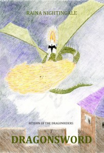 Dragonsword, conclusion to Return of the Dragonriders Trilogy, Areaer, by Raina Nightingale, high fantasy dragon fiction